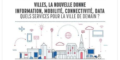 Conférence - Les nouveaux services de la ville de demain billets