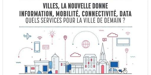 Conférence - Les nouveaux services de la ville de demain