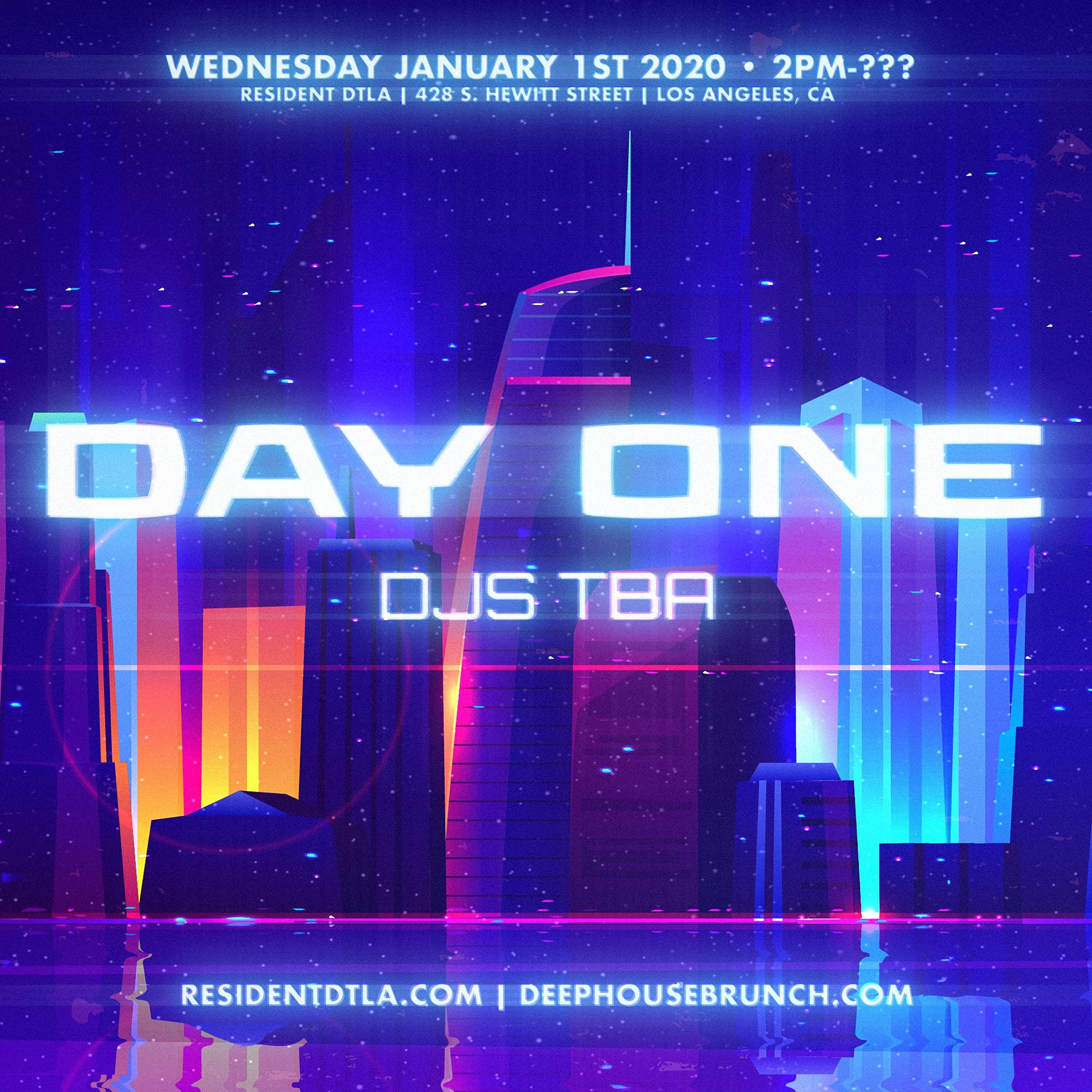Deep House Brunch Presents: DAY ONE