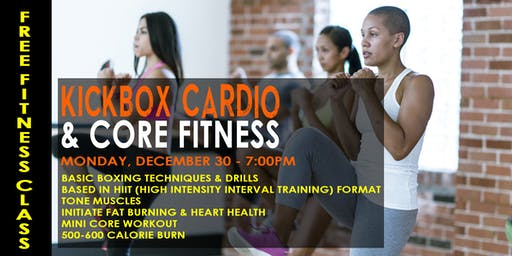 Kickbox Cardio + Core Demo Class