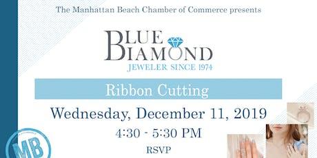Blue Diamond Jeweler Ribbon Cutting tickets