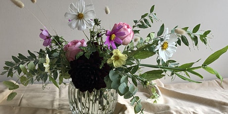 Spring inspired low vase arranging workshop with Florette  tickets