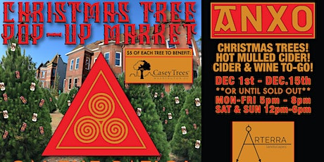 Christmas Tree Lot Pop Up at ANXO Cidery to support Casey Trees tickets