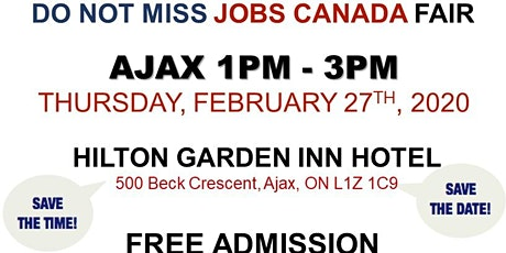 AJAX JOB FAIR - February 27th 2020 tickets