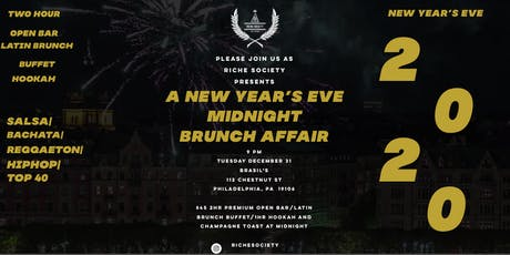 Riche Society Presents A New Year's Eve  Midnight  Brunch Affair tickets