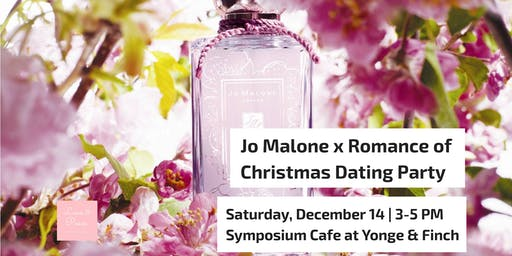Jo Malone x Romance of Christmas Dating Party | Allure of Romance