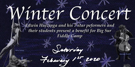 Winter Concert: A Benefit for Big Sur Fiddle Camp tickets