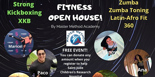 Fitness Open House! Kickboxing & Zumba for Saint Jude Research Hospital