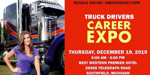 Detroit Trucking Job Fair - December 19, 2019