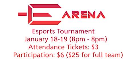 E-Arena tickets
