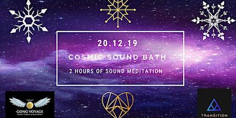 Cosmic Christmas Sound Bath tickets