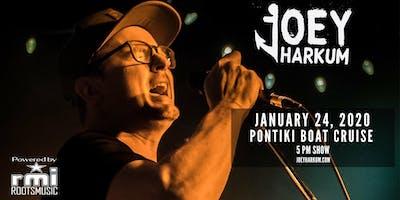 Joey Harkum - Live on the PONTIKI Shaka - Jupiter