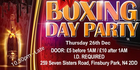 Boxing Day Party tickets