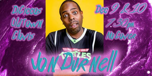 Just The Tips Headlining Jon Durnell Comedy Show+Open Mic