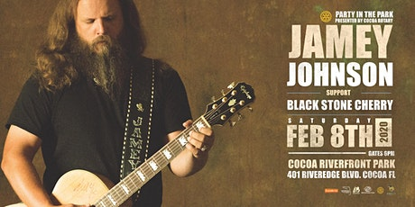 "JAMEY JOHNSON w/ BLACK STONE CHERRY ""Party in the Park"" - COCOA tickets"