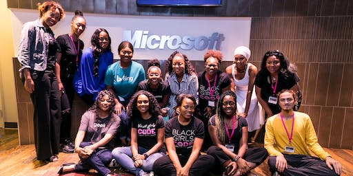 Black Girls CODE HOUSTON Chapter and Microsoft Presents: Black Girls CODE in Space