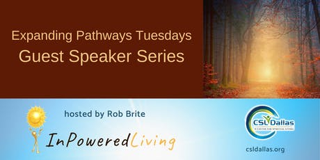 InPowered Living Guest Speaker - From Religious to Spiritual A Journey of Faith tickets