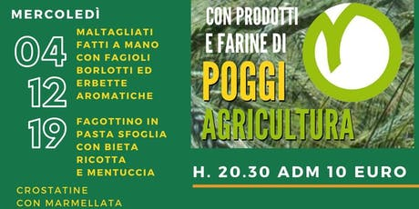Cena Contadina Poggi Agricultura social dinner! biglietti