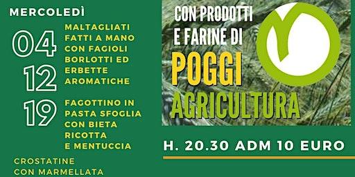 Cena Contadina Poggi Agricultura social dinner!