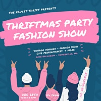 Thriftmas Party Fashion Show