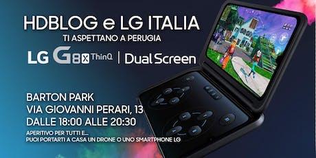 HDblog ed LG Italia vi invitano a Perugia a scoprire LG G8X Dual Screen biglietti