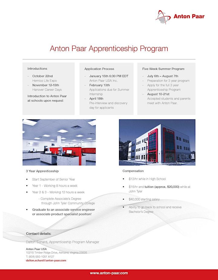 Anton Paar Apprenticeship Program Open House image