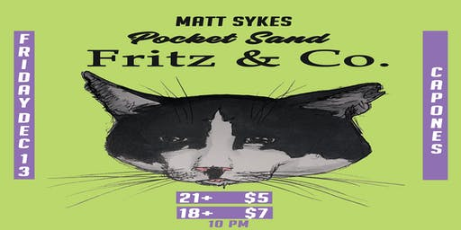 Pocket Sand with Fritz & Co. and Matt Sykes