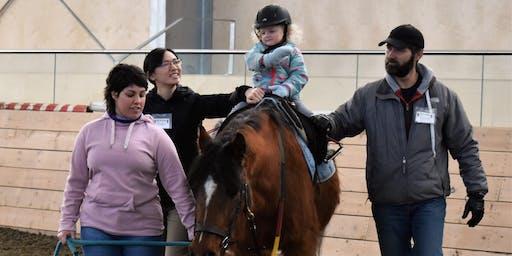 Holiday Horse Riding Sampler