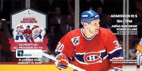 Tournée des anciens Canadiens de Montréal Canadiens Alumni-NOVA West Island tickets