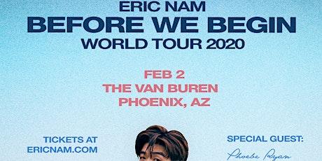 Eric Nam - Before We Begin World Tour tickets