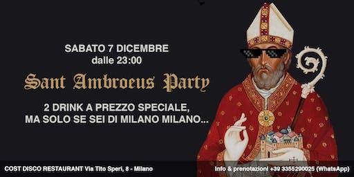 Sant Ambroeus Party al Cost Milano  ✆ 3355290025