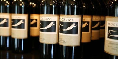 Frog's Leap Winery Tasting Event