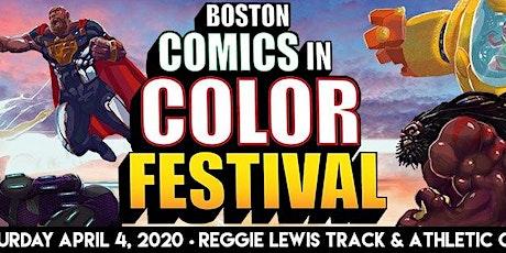 Boston Comics in Color Festival tickets