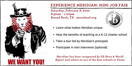 Experience Meridian: Mini Job Fair tickets