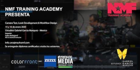 Camera Test, Look Development & Workflow Design boletos