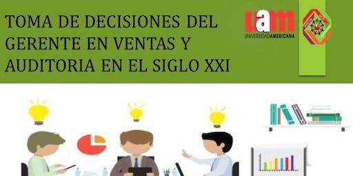 Seminario: Toma de decisiones del gerente de ventas y auditoría