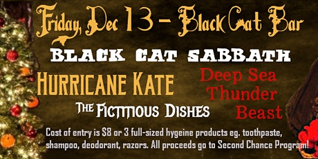Charity show! Deep Sea Thunder Beast, Hurricane Kate, Black Cat Sabbath tickets