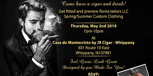 Custom Suits & Cigars Event