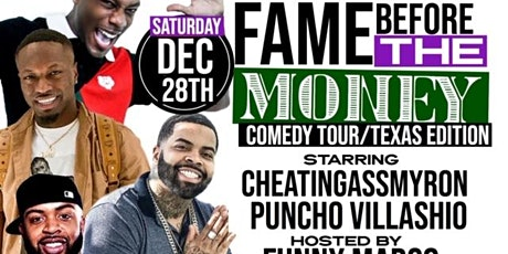"""""""FAME BEFORE THE MONEY"""" Comedy Tour- New York City tickets"""