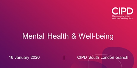 Mental Health & Well-being tickets