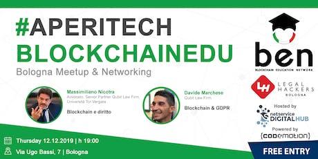 BOLOGNA - Meetup #AperiTech di Blockchain Education Network Italia biglietti