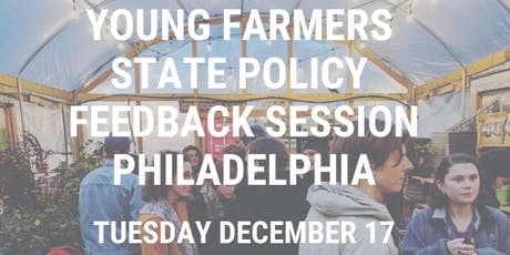 Young Farmers PA Policy Feedback Session tickets
