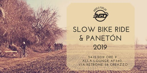 Copia di AF360 SLOW BIKE RIDE & PANETÓN 2019 !