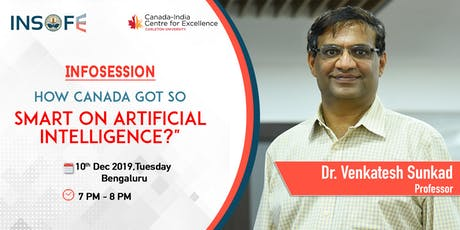 How Canada got so smart on Artificial Intelligence? tickets