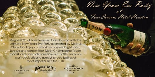 New Years Eve  Party at Four Seasons Hotel Houston