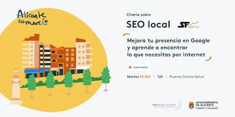 Charla SEO Local Mejora tu presencia en Google CAMPOAMOR entradas