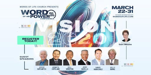Word of His Power Conference!  Free!!