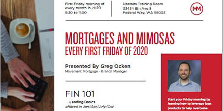FIN 101 - Lending Basics for Realtors tickets