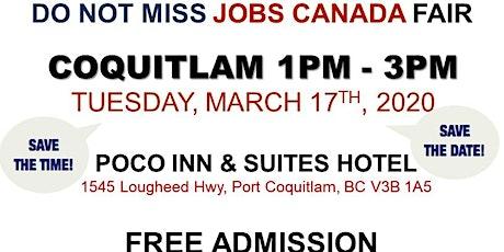 Free: Coquitlam Job Fair - March 17th 2020 tickets