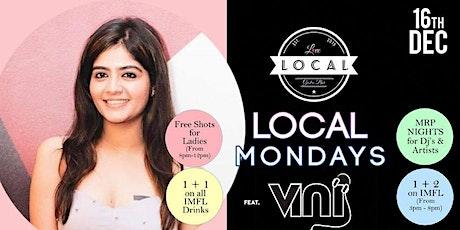 LOCAL Mondays - Dj Vini tickets